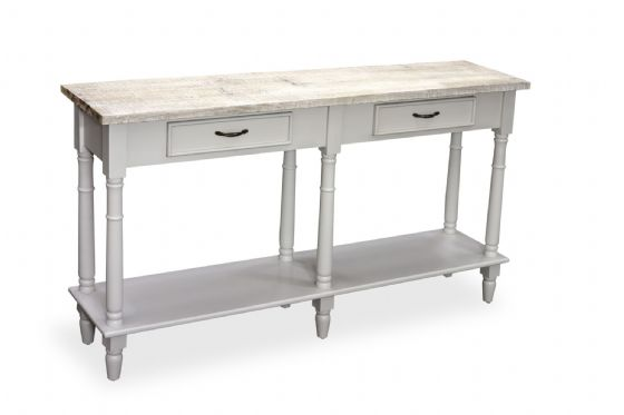 Fowey Large Console Table - Grey